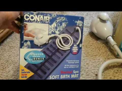Conair Thermal Spa Soft Bath Mat / Conair Bath Mat / Working Review Check This Out!