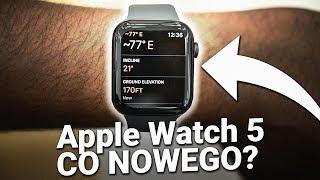 Apple Watch 5  3 NAJWIEKSZE ZMIANY ⌚️