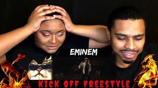 """Eminem """"Kick off"""" Freestyle  Reaction"""