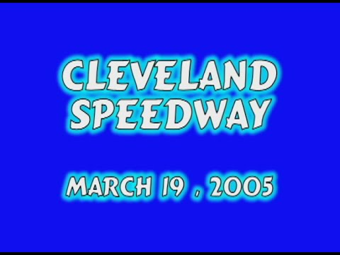 Cleveland Speedway Pony Feature 3 19 05