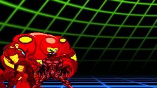 TEST #2 CALL Hulk Buster WIP, Super Sonic Flight