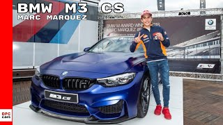BMW Gifts M3 CS To Marc Marquez