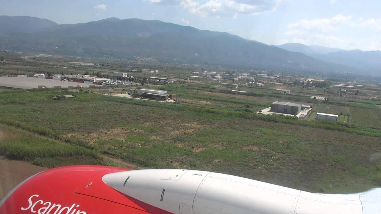 Scandinavian Boeing 737 landing at Kalamata Airport (KLX ...