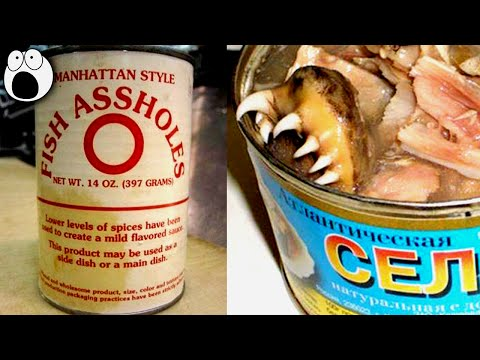 20 STRANGEST Canned Food You Never Knew Existed