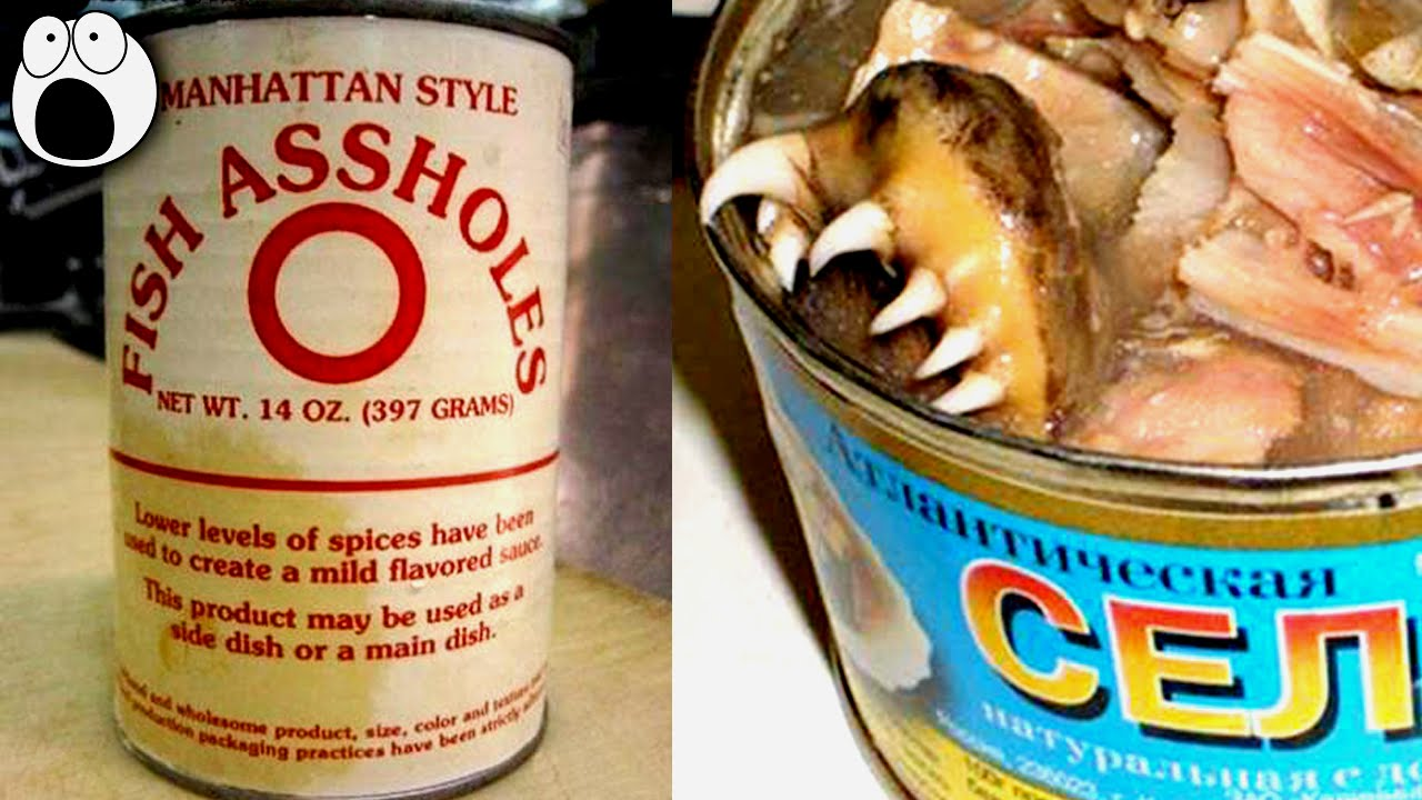 20 strangest canned food you never knew existed youtube