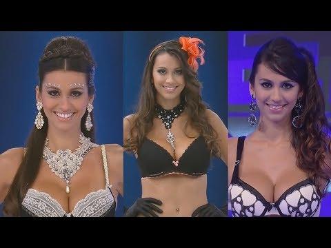 Sexy Model Carina Christini/FASHION SHOW SUPER POP/LINGERIE COLLECTION/BIKINI/ПОКАЗ НИЖНЕГО БЕЛЬЯ