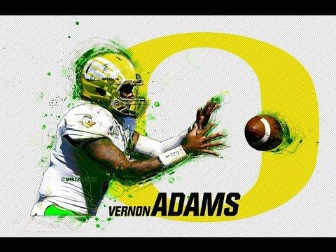 Vernon Adams Jr.    Official Oregon QB 2015 Highlights ᴴᴰ
