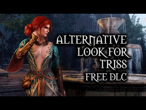 The Witcher 3: Wild Hunt - Alternative Look for Triss (free DLC)