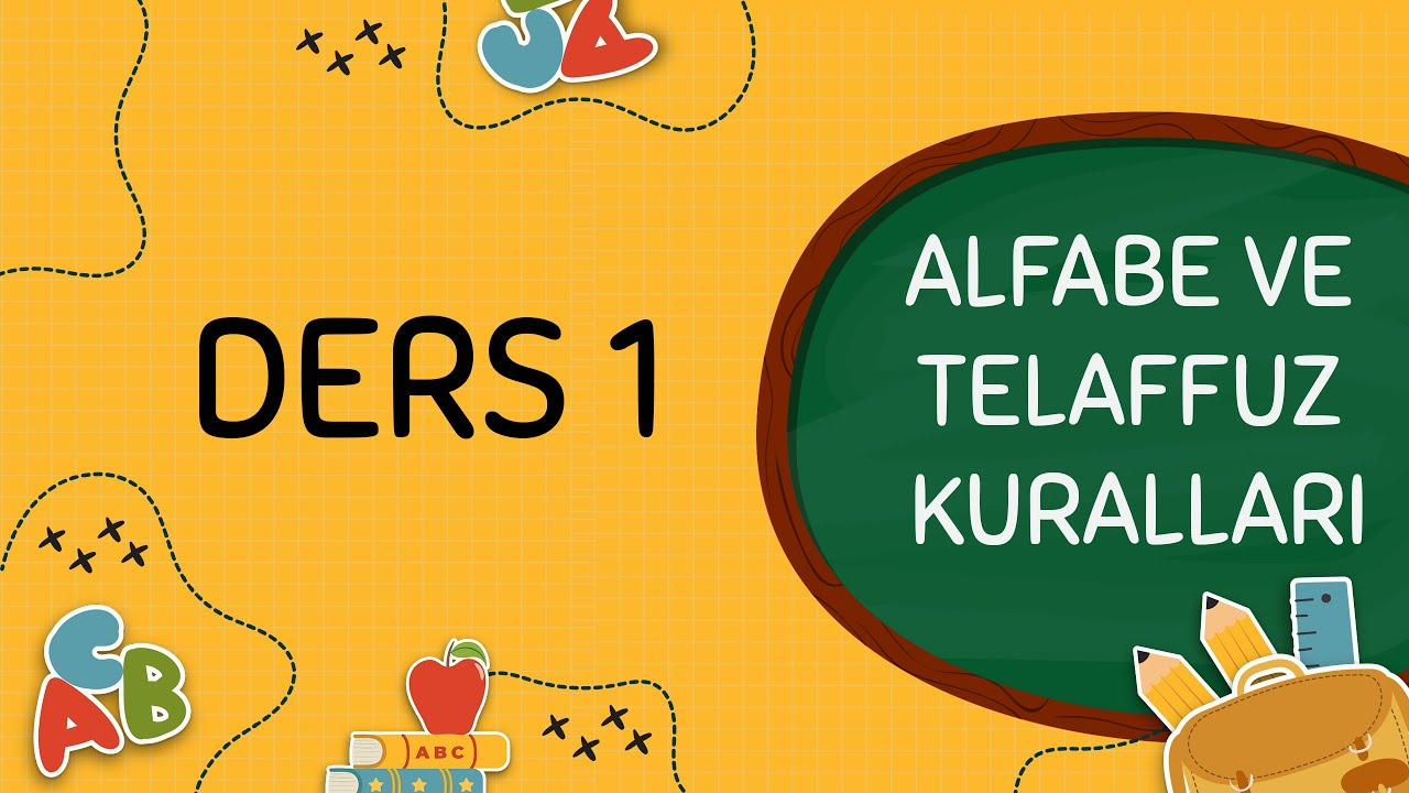 A1 | Ders 1 - Alman Alfabesi ve Telaffuz Kuralları
