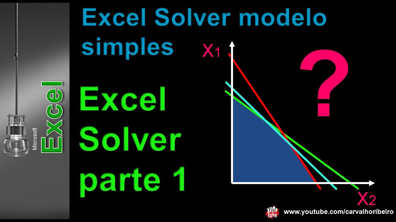 excel solver tutorial Quickly learn how to set up and solve your own problems using the excel solver  with our examples you'll be able to solve many business problems including.