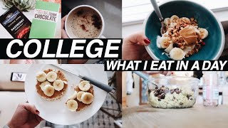 WHAT I EAT IN A DAY | college edition