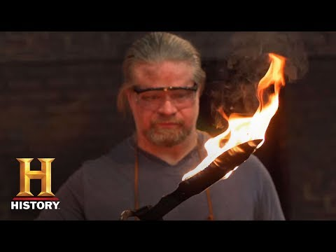 Forged in Fire: Bladesmithing 101: Bowie Knife