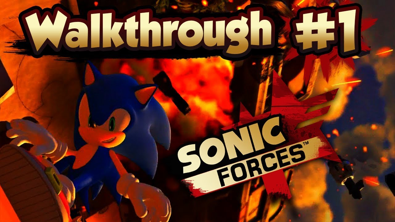 ABM: Sonic Forces Gameplay!! Walkthrough # 1 HD *Nintendo Switch*