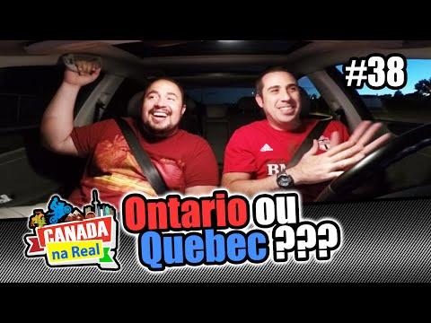 Ontário ou Quebec? | CANADA NA REAL