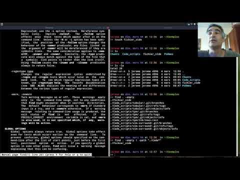 Commande Linux: Find