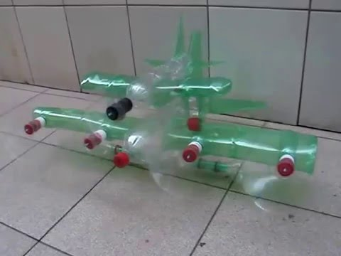 Make toy for kids - Recycled from plastic bottles /fighter parent - child fighters (DIY)
