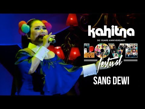 Titi DJ - Sang Dewi   (Kahitna Love Festival)
