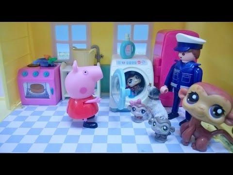 Bajka Świnka Peppa po polsku. Zaginione trojaczki Littlest Pet Shop!