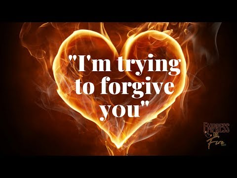 🔥🔥 I'M TRYING TO FORGIVE YOU | DIVINE FEMININE READING | 4TH WEEK OF OCTOBER 2018🔥🔥