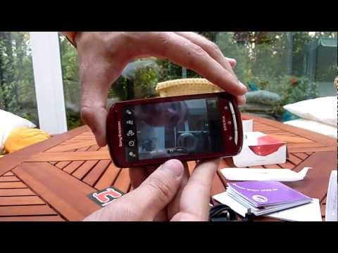 Sony Ericsson Xperia Pro Unboxing