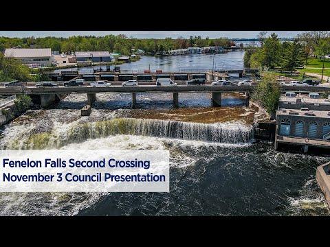 Fenelon Falls Second Crossing November 3, 2020 Council Presentation