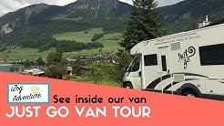 Motorhome hire just go - See the Motorhome we hired