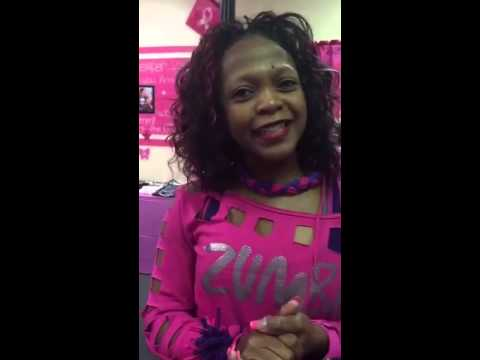 PEOPLE PLACES & THINGS learning why Sandra Thompson of STUDIO VIVE is so sincere about Zumba!