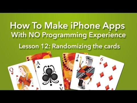 How To Make an App - Ep 12 - Randomizing the cards