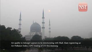 Selangor hard hit by haze