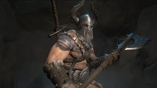 Diablo IV - Barbarian Gameplay [PC, PS4, Xbox One]