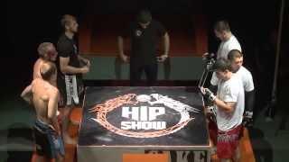 Показательный бой 3 на 3  Non rating 3 VS 3 fight  Hip Show