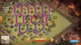 Clash of clans 1of 2 best dragon pathing techniques