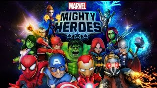 Marvel Mighty Heroes (iOS/Android) Lets Play Gameplay Walkthrough Part 1 (iphone/ipad/ipod Touch)