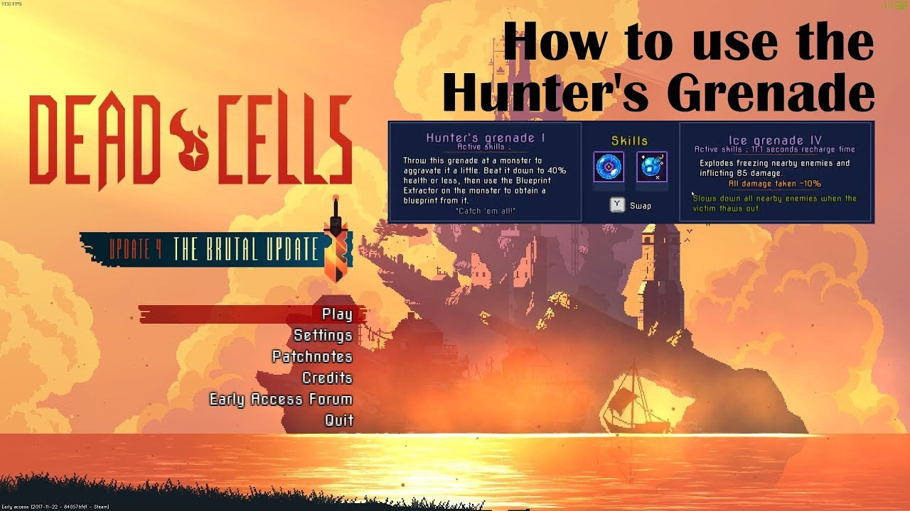 Dead cells full release hunters grenade tutorial youtube dead cells full release hunters grenade tutorial malvernweather Images