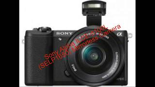Sony Alpha Ilce 5100l selp1650 Mirrorless Camera unboxing & review