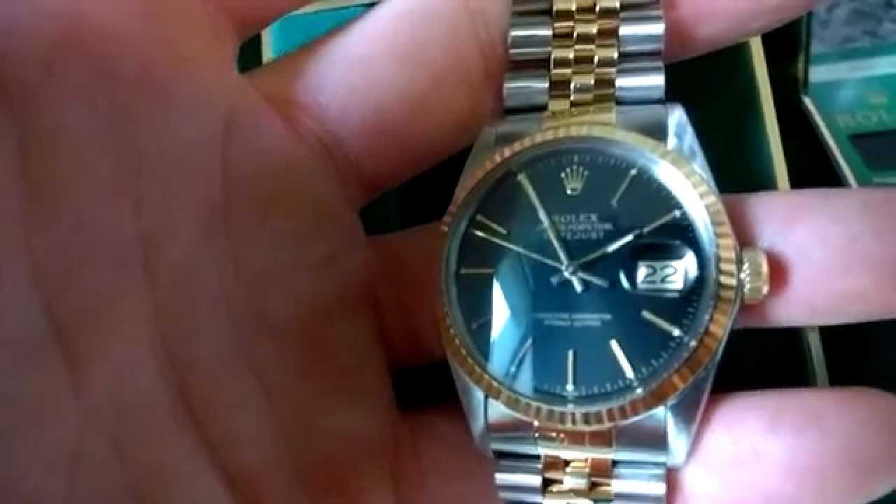 f1decc1f3b7 Real or Fake Rolex? How to tell - YouTube