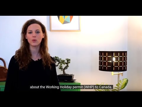Comment Fonctionne Le PVT Canada ? / The Working Holiday Permit In Canada (English Subtitles)
