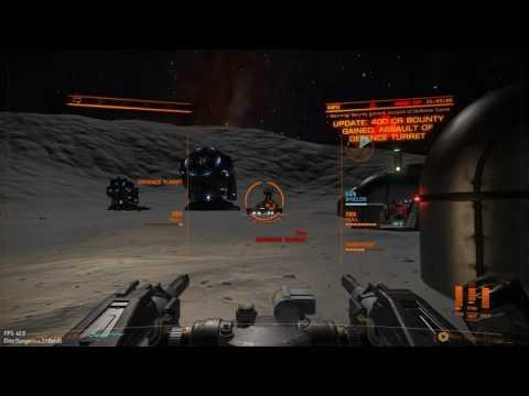 Elite Dangerous 2.1 Beta 6 Settlement Assault, Class 3 Medium Security Solo
