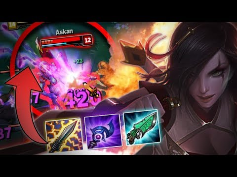 ¡BURST INCREÍBLE! KATARINA NUCLEAR BUILD  KATARINA MID League of Legends