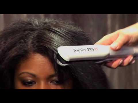 Hair Steamer For Natural Hair Flat Iron