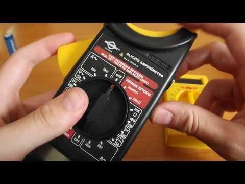 Como usar Multímetro e Amperímetro digial - Aprenda a usar o multímetro e alicate amperimetro