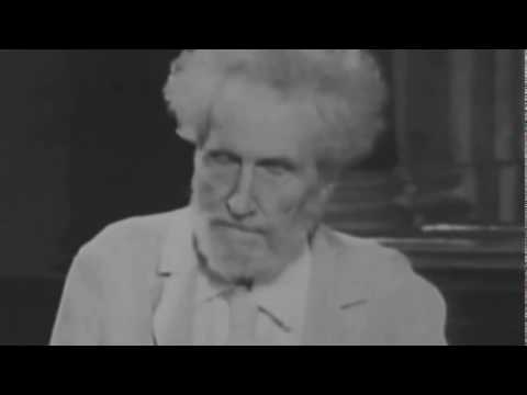 Ezra Pound Reading Canto LXXXI