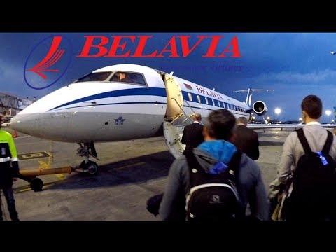 FLIGHT REPORT / BELAVIA CRJ 200 / KIEV BORISPOL - MINSK