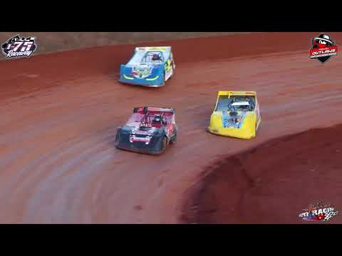 Topless Outlaws Late Model Dirt Series @ I-75 Raceway   Feature (11-24-19) - dirt track racing video image