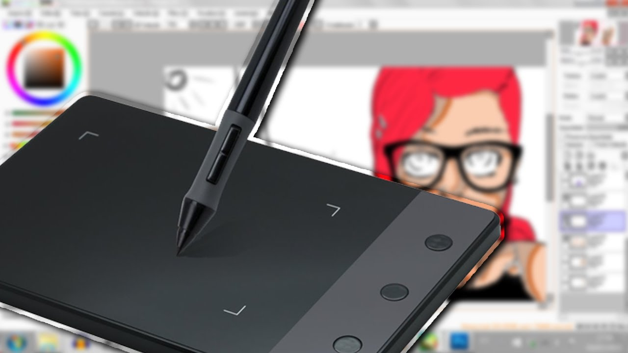 UNBOXING HUION H420 (PORTUGUESE)