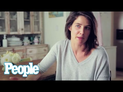 Cobie Smulders Never Wears Makeup!  People