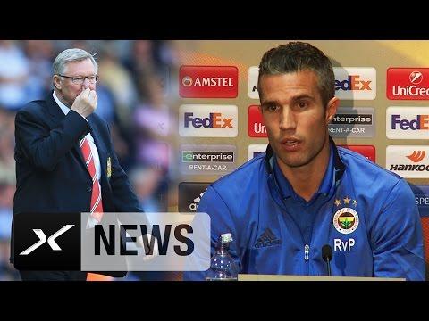 Robin van Persie: Wäre vielleicht noch bei United   Manchester United - Fenerbahce Istanbul