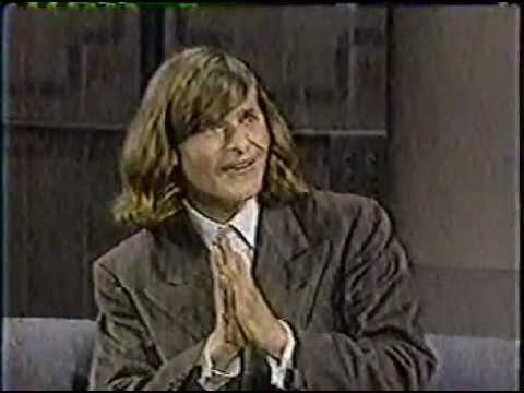 MUST SEE !!!!!!  FAMOUS EPISODE !!!!!  Crispin Glover on David Letterman