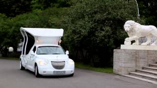 Лимузин карета(Limoexclusive & haute couture RENAT GANIEV., 2014-06-07T21:18:26.000Z)