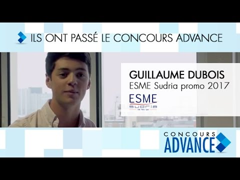 Témoignage de Guillaume Dubois, en 3e année à l'ESME Sudria